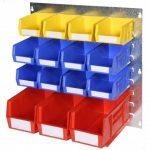 wall kit bench kit rhino tuff picking bins