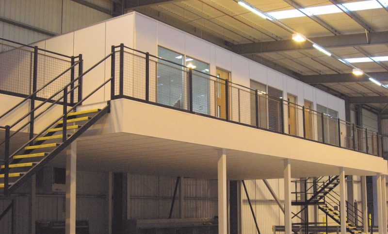 mezzanine floors working at height
