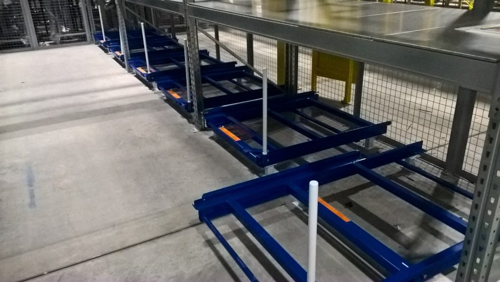 Dexion Pull Out Units - Saving time and money with ergonomic picking