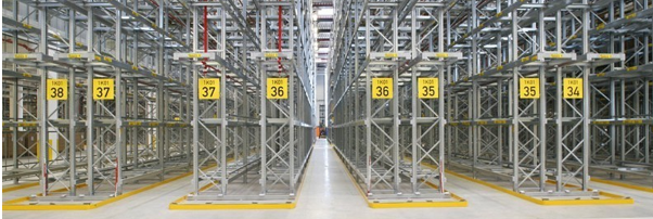 narrow aisle pallet racking system