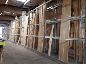 vertical racking for robbins timber