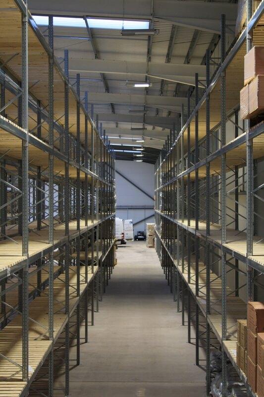 Mezzanine Flooring And Dexion P90 Racking Case Study Pf