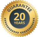 20 YEAR GUARANTEE LOGO