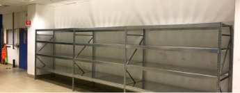 Galvanised Steel Shelving Installation in Bristol