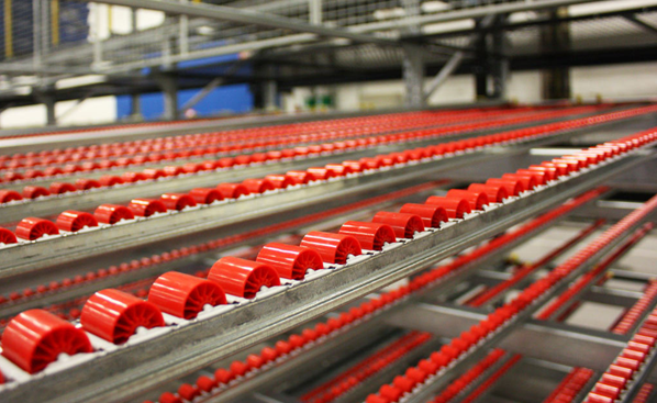 Roll technology in racking