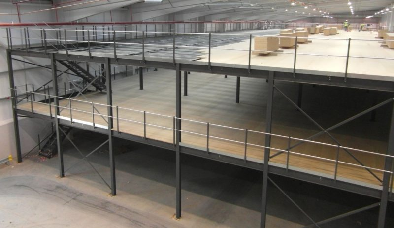 multi tier mezzanine floors