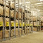 Dexion P90 Movo mobile racking 2