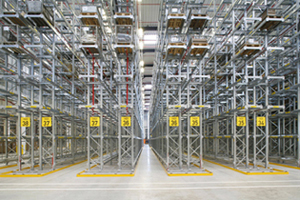 Dexion P90 narrow aisle racking