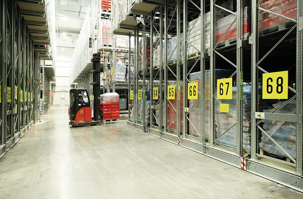 Pallet Racking Collapse