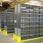 Dexion HI280 narrow aisle picking blue uprights