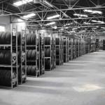 Dexion HI280 tyre storage