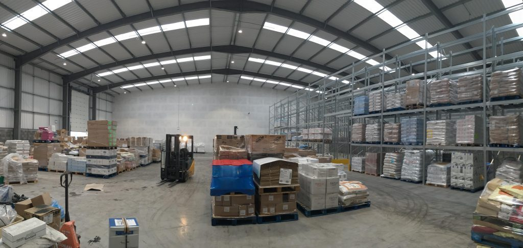 pallet racking case study