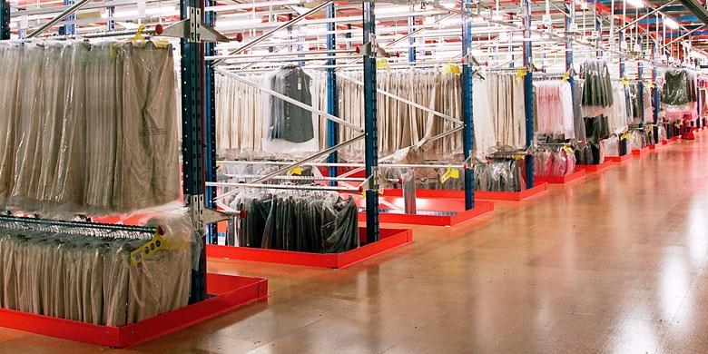 pp garment hanging