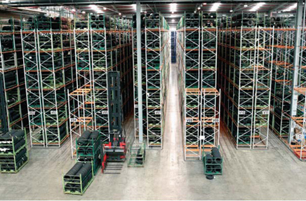 Apex narrow aisle pallet racking1