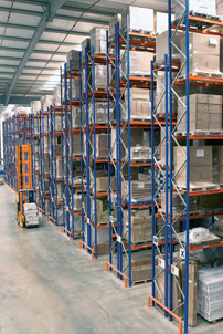 Apex narrow aisle pallet racking4
