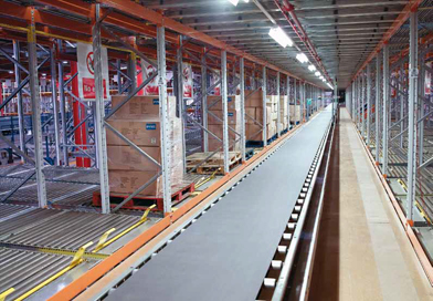 Apex pallet live racking