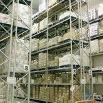 Pallet Racking Picture - Apex wide aisle pallet racking