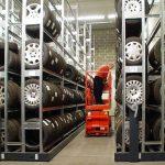 Mobile Tyre Storage Racks