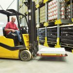 Pallet Shuttle systems enable forklifts to not enter racks