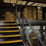 mezzanine floors to create extra storage space