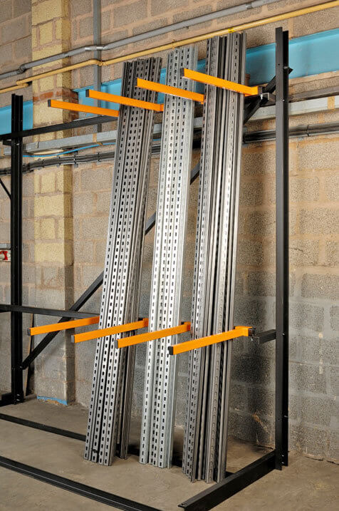 Vertical Racking Systems For Faster Picking Of Vertically
