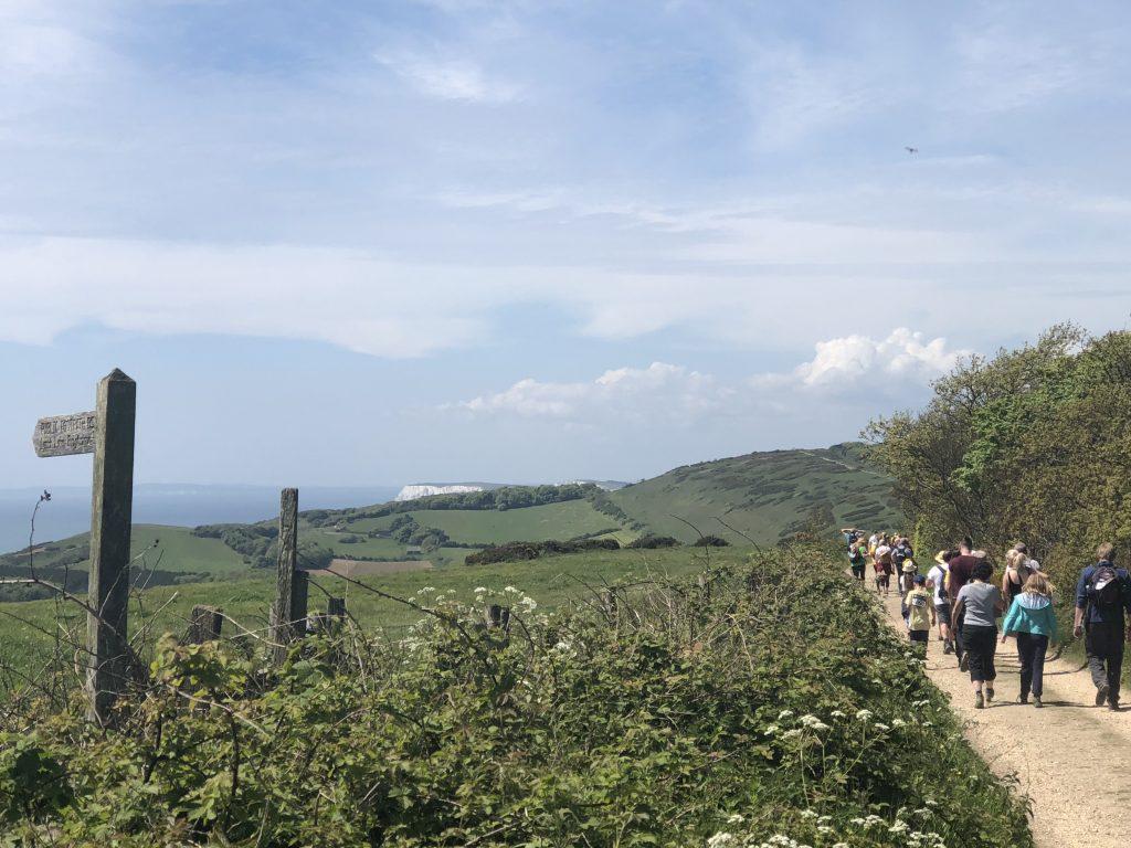 Aproching the hills