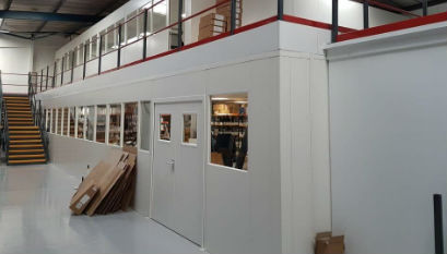 Steel Partitioning for Offices & Warehouses