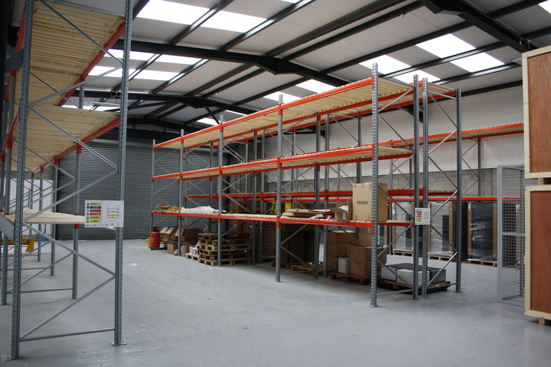 New Warehouse Racking