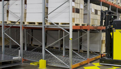 Dexion Push Back Racking