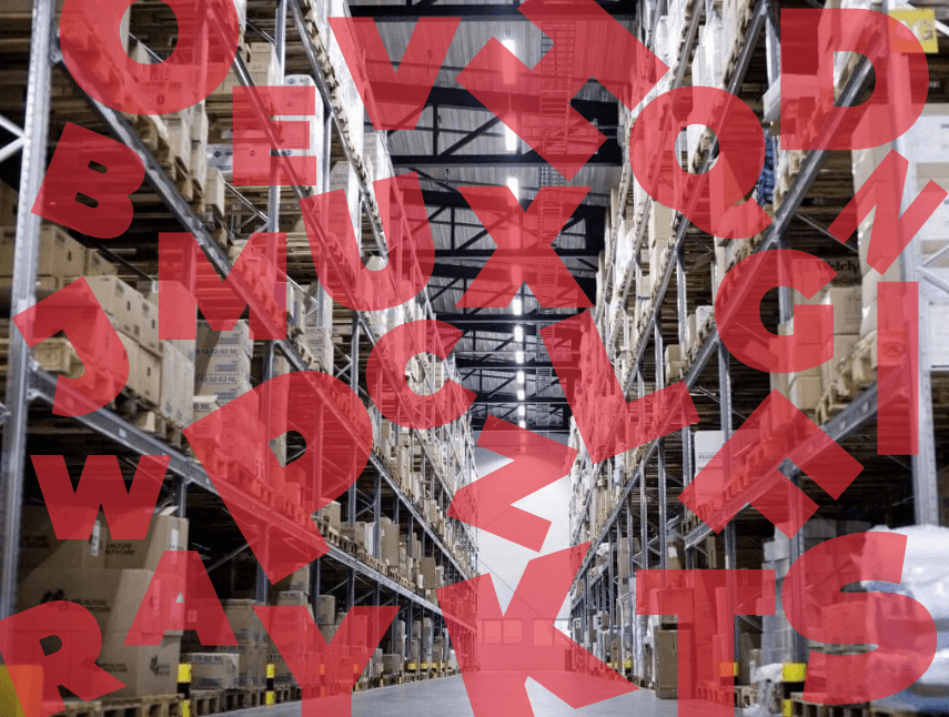 Glossary of terms in the warehouse