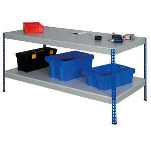 Full Under shelf Rivet Workbench