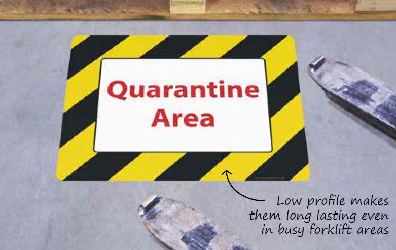 Quarantine Area - BSE UK