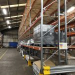 Pallet Racking With Timber Decking
