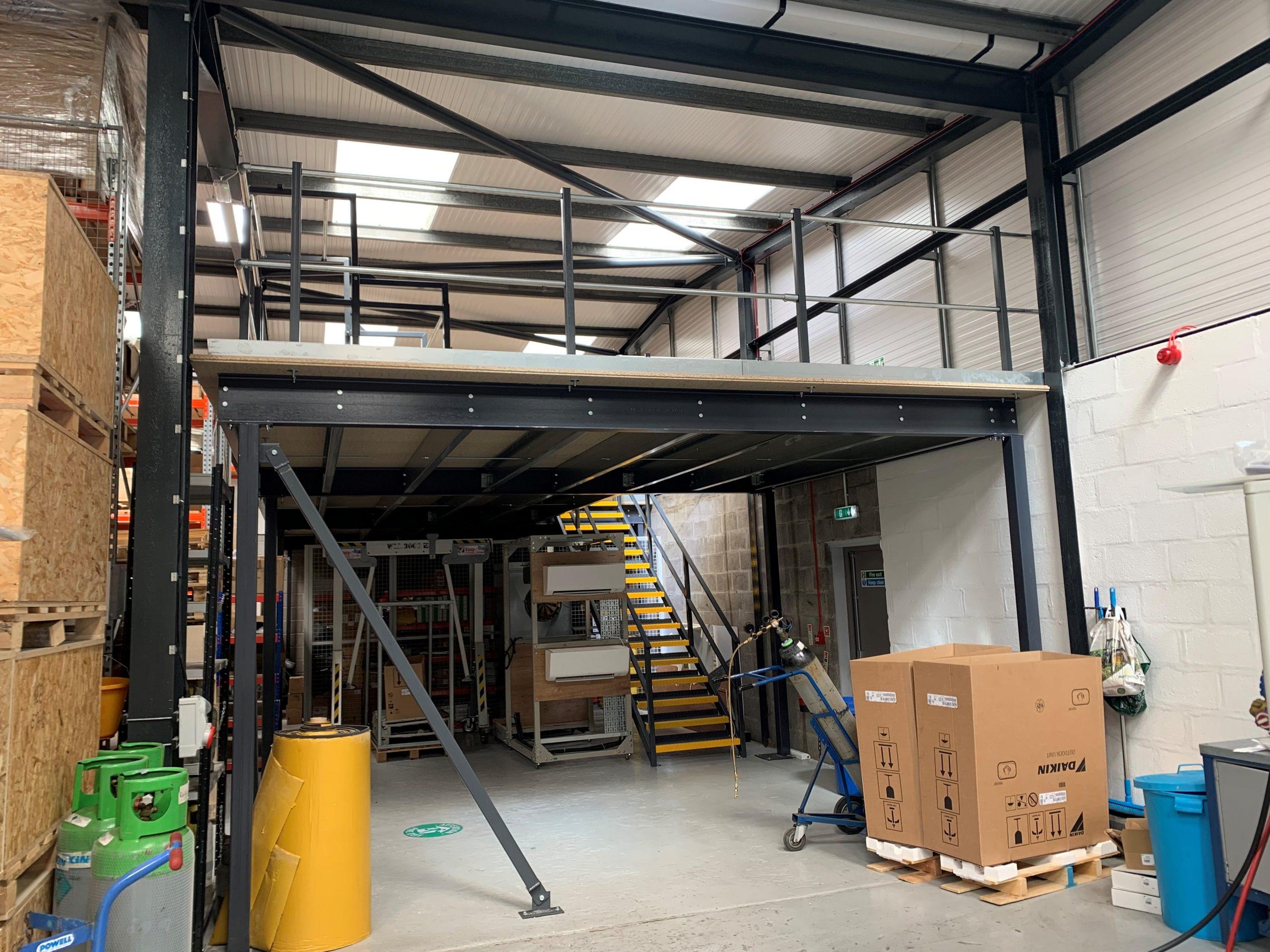 Mezzanine Floor in Bristol